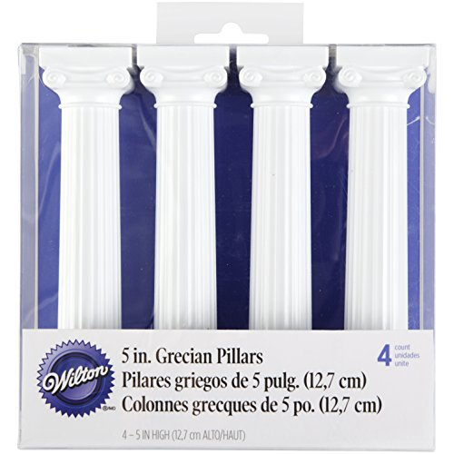 Wilton CF.4 Colonna Greca 13 CM CF.4 Colonna Greca 13 CM, Plastica, Bianco,