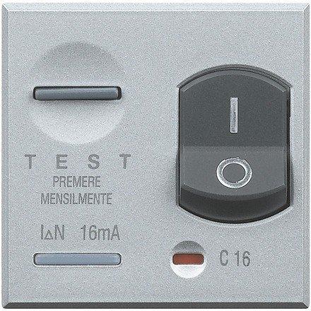 BTICINO AXOLUTE HC4305/10 - AX-M+DIF 1P+N 10A 10MA 2M TECH