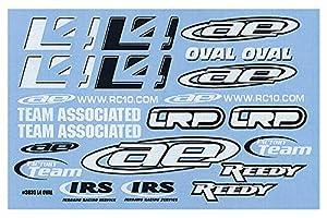 Team Associated rc10l4Ovalado Decal Sheet