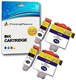 4 XL Druckerpatronen für Kodak ESP 3, ESP 5, ESP 7, ESP 9, ESP 3200, ESP 3250, ESP 5000, ESP 5100, ESP 5200, ESP 5210, ESP 5250, ESP 5300, ESP 5500, ESP 7200, ESP 7250, ESP 9200, ESP 9250, ESP Office 6100, ESP 6150, Hero 6.1, Hero 7.1, Hero 9.1 | kompatibel zu Kodak 10B, 10C