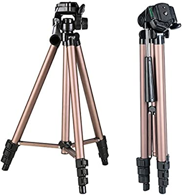 K&F Concept Trípode Ligero para Canon Nikon Sony GoPro Fujifilm Kodak DSLR Cámaras