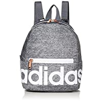 adidas Unisex Linear Mini Backpack, Jersey Onix/White/Rose Gold, ONE SIZE