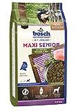 bosch Hundefutter Maxi Senior Geflügel & Reis 1 kg,5er Pack (5 x 1 kg)