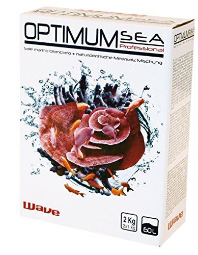 Sale marino Wave Optimum Sea Professional 2kg - Per ricreare il corretto equilibrio dell'ecosistema marino