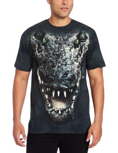 Gator Head Alligator Krokodilkopf Erwachsenen T-Shirt in Größe S - Alligator-erwachsenen T-shirt