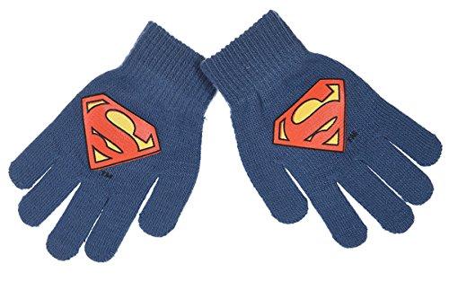 Gants enfant garçon Superman 8 couleurs Taille unique (3/8ans) Bleu