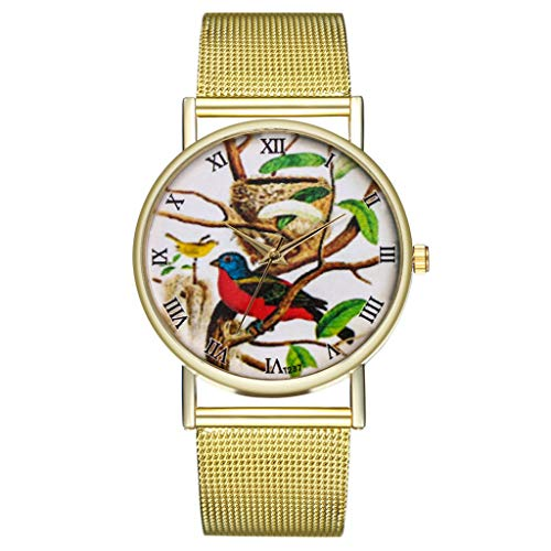 IG Invictus Vintage Ladies Round Mesh Strap Watch Quartz Fashion Watch Quarzmaschengürtel Modeuhr T236 W MIT Mode, Uhren, Quarz -