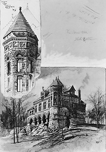 Harry Fenn - The Town Hall North Easton Massachusetts Kunstdruck (45,72 x 60,96 cm)