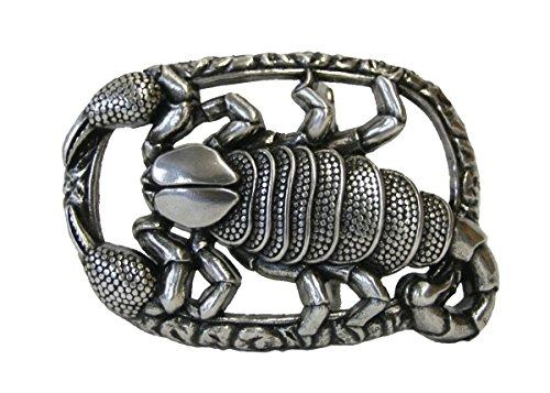 Dark Dreams Buckle Gürtelschnalle Skorpion Schnalle für Gürtel Scorpion in altsilber