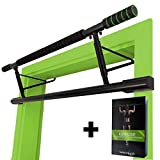 MAGNOOS Barre de Traction Matador | Premium Barres de Musculation pour la Porte | Amovible Simple | sans Vis ou Fixation | Fitness,...