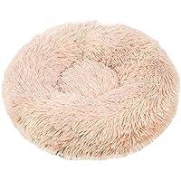 Cesta para Mascotas de Felpa 5 Colores Diferentes y 8 tamaños - Lavable y Resistente a los arañazos casa para los Perros y Gatos (Style 5, 120CM)