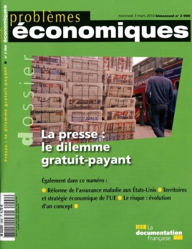 La presse : le dilemme gratuit-payant (n.2990)