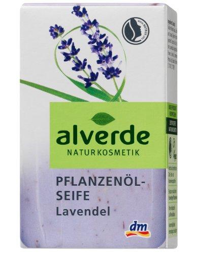 Pflanzenöl-seife (Alverde Pflanzenöl-Seife Lavendel, 2er Pack (2 x 100 ml))