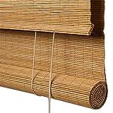 Tende a Rullo di bambù Tende a lamelle Naturali per Interni ed Esterni a Sollevamento Persiane Decorative Protezione Solare Accessori a Prova d'umidità Personalizzabili