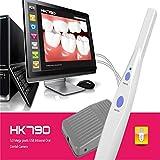 KLI Fotocamera intraorale Dentale endoscopio Denti Fotografia periscopio ispezione Orale Macchina Fotografica Strumenti dentali per PC Tablet Laptop Software di Imaging Incluso No Pedal HK790