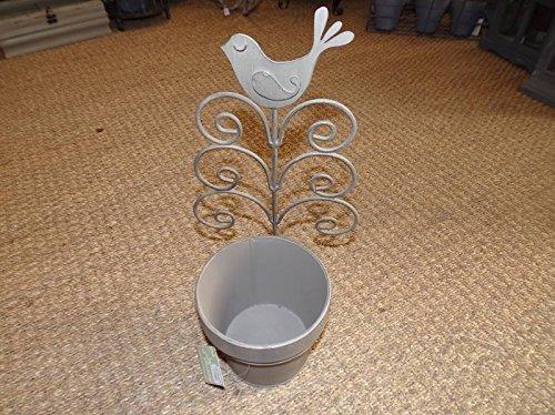 Jardín de Ulises-Cache Pot Topo soporte Metal 1pájaro jardín de Ulises