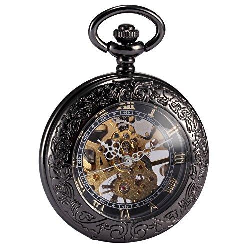 AMPM24- mod. WPK164-Orologio da taschino, colore nero