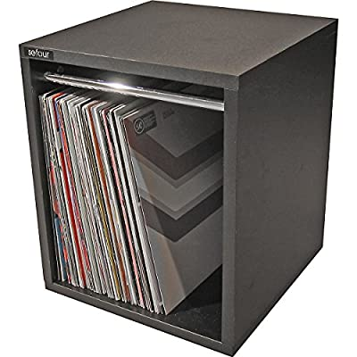 Sefour Vinyl Record Carry Box 60 Black (VC030-901)