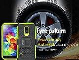 ykooe Galaxy S5 Mini Hülle, (TPU Series) S5 Mini Dual Layer Hybrid Handyhülle Drop Resistance Handys Schutz Hülle mit Ständer für Samsung Galaxy S5 Mini Test