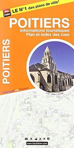 Poitiers : 1/10 000, avec livret