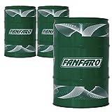 FANFARO 3 x 60 Liter Garagenfass, TSX 10W-40 Motorenöl