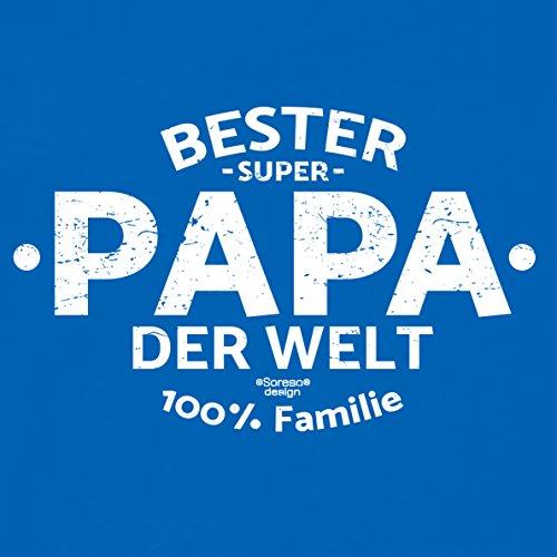 Geburtstag, Geburtstagsgeschenk Herren T-Shirt Funshirt Bester Papa der Welt Geschenkidee, Geschenkset, auch in Übergröße Farbe: royal-blau Royal-Blau