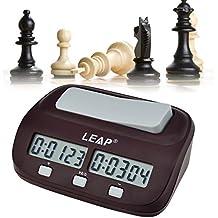 Ckeyin ® Mini compatto da viaggio digitale multifunzione display Chess Clock Count Up Down Timer Concorso Gioco Clock Pro