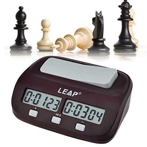 Ckeyin ® Reloj digital para jugar al ajedrez | Despertador para niños | regalos de Navidad