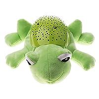 SM SunniMix LED Starry Sky Projector Animal Night Light Luminous Plush Toy Sleep Aid Gift for Toddler Baby