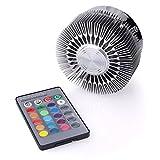 3W RGB LED Deckenleuchte,AGM Blumendesign Wandlampe Schlafzimmer Licht mit Fernbedienung