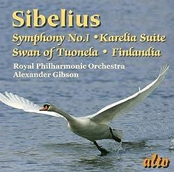 Sibelius: Symphony No. 1karelia Suiteswan Of Tuonelafinlandia