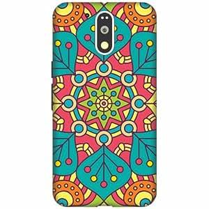 Moto G4 plus Silicon Back Cover -Multicolor Designer Cases Cover By Printland