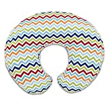 Chicco 08079902360000 Boppy Cuscino Allattamento, Multicolore (Colorful Chevron)