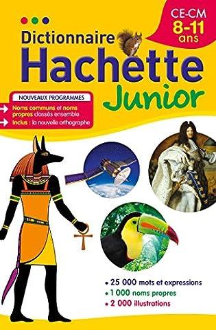 Dictionnaire Hachette Junior - CE-CM - 8-11