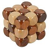 Holzsammlung® Cubo 3D Rompecabezas de Madera Juego Puzle - #1 - Holzsammlung - amazon.es