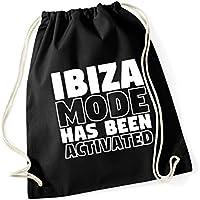 HippoWarehouse Ibiza mode has been activated Drawstring Cotton School Gym  Kid Bag Sack 37cm x 46cm efcef35b91552