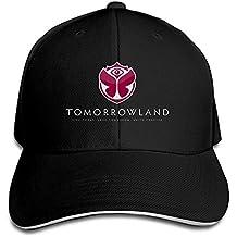 Unisex Tomorrowland Mesh Cap Negro, Negro