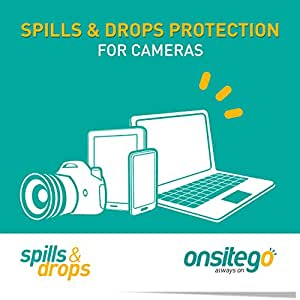 OnsiteGo 1 Year Spills and Drops Protection Plan for Cameras (Rs. 20,001-35,000)