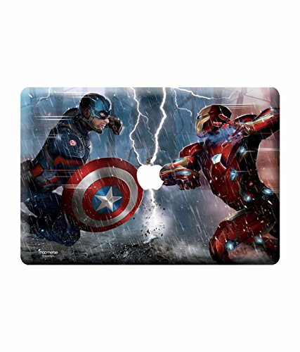 Licensed Marvel Comics Captain America, Ironman Laptop Skins For Macbook Air 13""