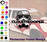 Cloud Trooper Hater Domo Bitch Race Power Honda PS JDM Sticker VW OEM Fun Aufkleber Hater