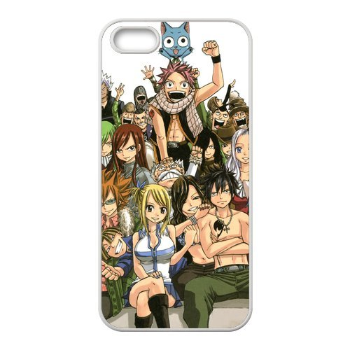 iPhone 5S Case, iPhone 5/iPhone 5S Case Coque, Screen Protector pour iPhone 5S, Fairy Tail Designs iPhone 5Case, iPhone 5/iPhone 5S Coque de protection Case