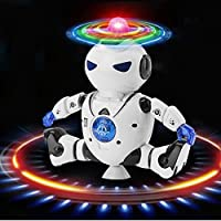 Education Toy,Rawdah Electronic Walking Dancing Smart Space Robot Astronaut Kids Music Light Toys