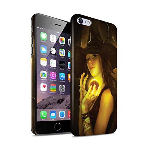 Officiel Elena Dudina Coque / Clipser Brillant Etui pour Apple iPhone 6+/Plus 5.5 / Orbe/Sorcellerie Design / Magie Noire Collection Orbe/Sorcellerie