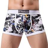 Sparpack!Herren Unterwäsche, Atmungsaktiv Männer Boxershorts Baumwolle Unterhose für Sport und Freizeit Weich und Luftig Retroshorts von Innerernet