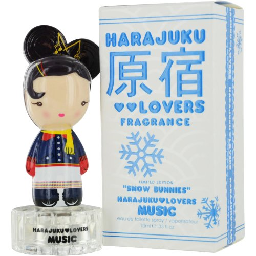 Gwen Stefani Harajuku Lovers Snow Bunnies Eau de Toilette, 10ml–Musik