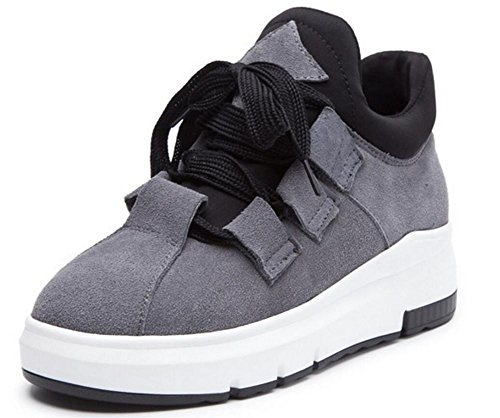Black Donna Up Fitness Platform Inverno Calzature Casual Office C6wE0Xqw