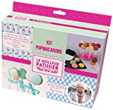 LE MEILLEUR PATISSIER 95422 MP Kit Pop Macarons Silicone/Papier