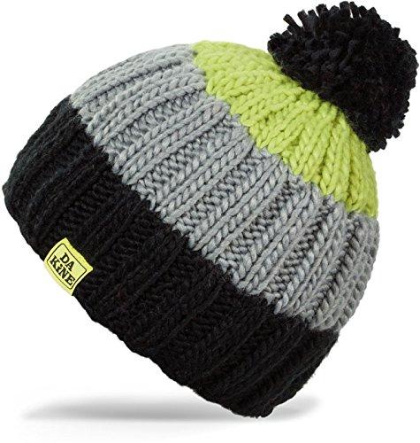 Dakine Farley Bonnet Femme Noir/Hot Lime Black/hot Lime