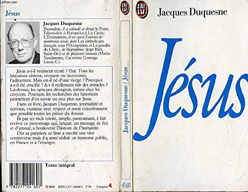 Jesús por Jacques Duquesne