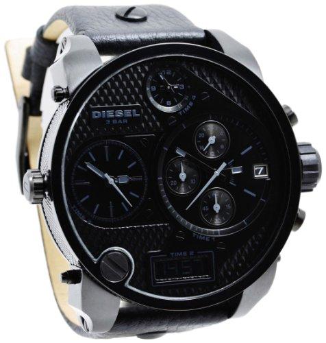 d9506a06216a Diesel DZ7193 - Reloj de cuarzo para hombre con correa de piel ...